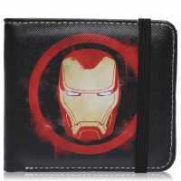Character Marvel Wallet Mens Iron Man Портфейли