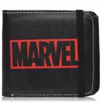 Character Marvel Wallet Mens Marvel Logo Портфейли