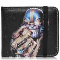 Character Marvel Wallet Mens Thanos Портфейли