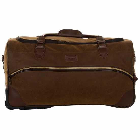 Kangol Чанта Chocolate Wheelie Holdall 25in/64cm Куфари и багаж