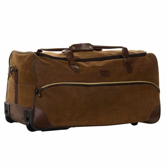 Kangol Чанта Chocolate Wheelie Holdall 29in/74cm Куфари и багаж