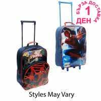 Character Раница На Колела Trolley Bag Spiderman Сакове
