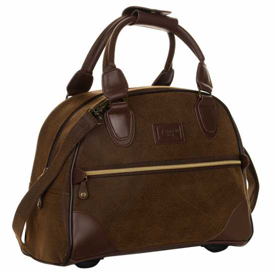 Kangol Чанта Xs Carry On Bag Brown Сакове за фитнес