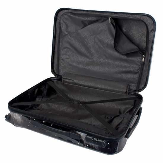Hot Tuna Galaxy Abs Suitcase Black/White Куфари и багаж