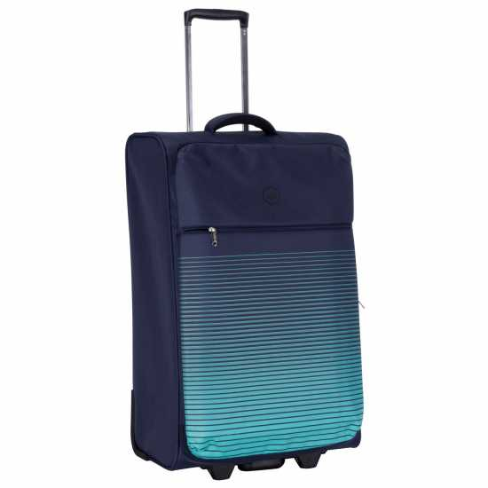 Hot Tuna Graphic Suitcase Gradient Blue Куфари и багаж