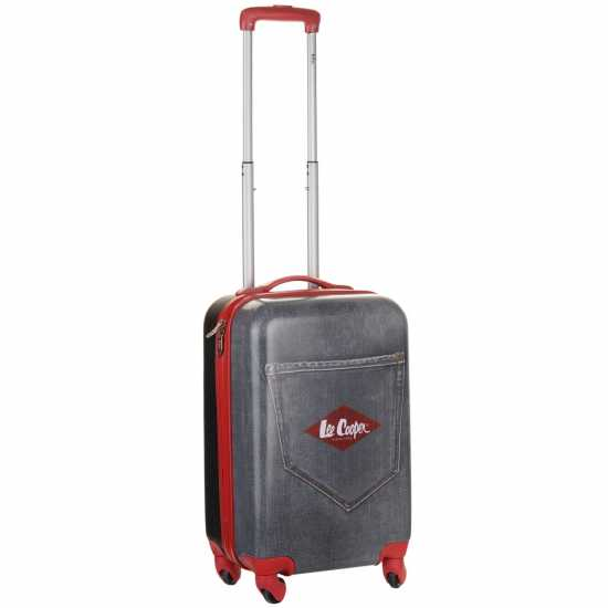 Lee Cooper Denim Suitcase Black Denim Куфари и багаж
