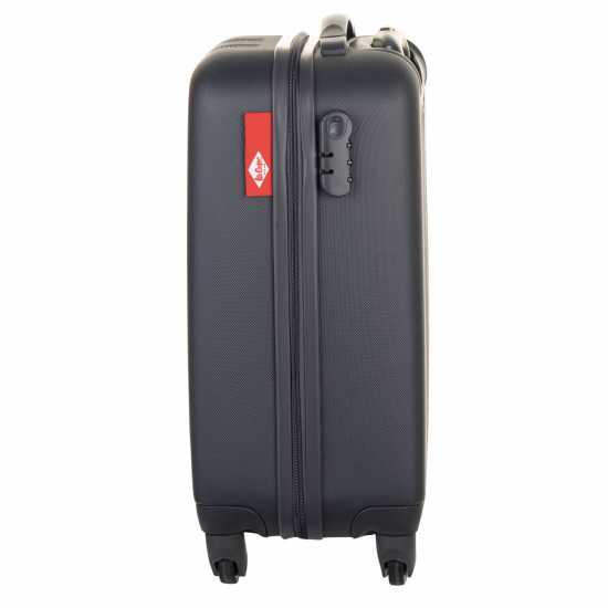 Lee Cooper Patch Suitcase Anthracite Куфари и багаж