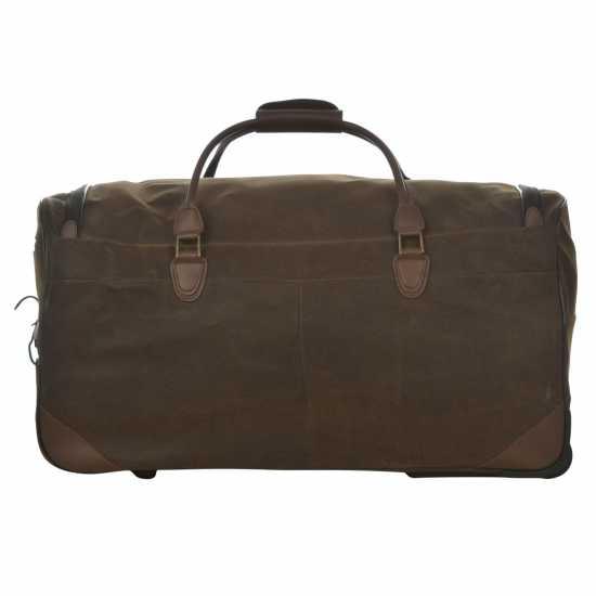 Kangol Чанта Chocolate Wheelie Holdall Set Chocolate Куфари и багаж