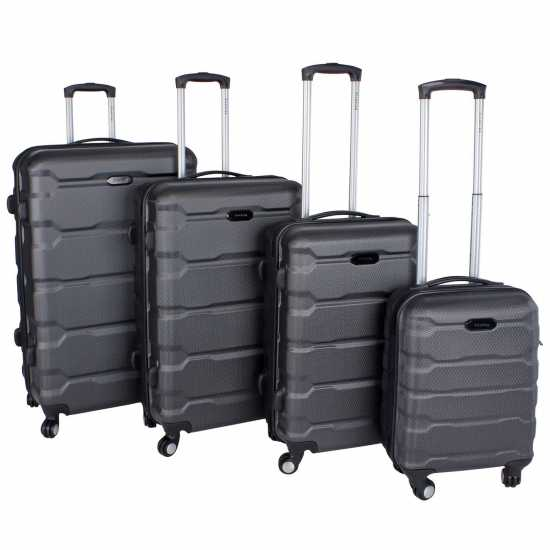 Firetrap Твърд Куфар Hard Suitcase Black 20in/50cm Куфари и багаж