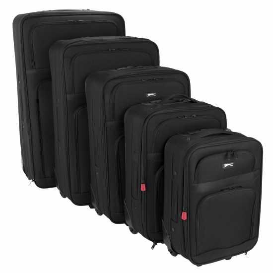 Slazenger Комплект Куфари Trolley Suitcase Set Black Куфари и багаж