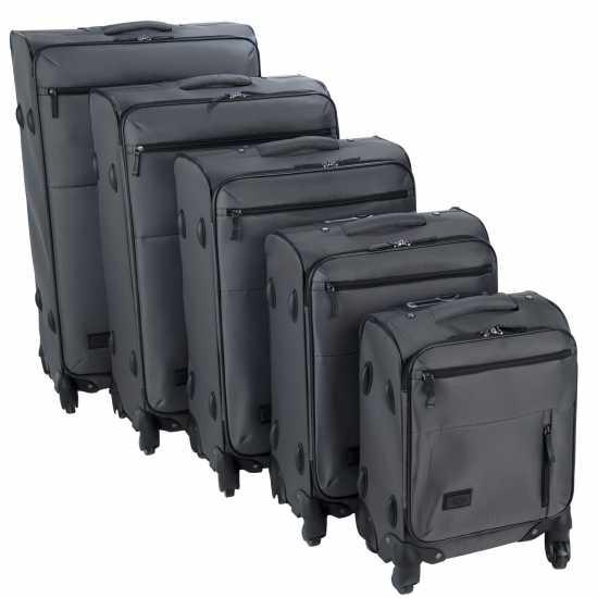 Firetrap Комплект Куфари Soft Suitcase Set Grey Куфари и багаж