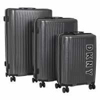 Dkny Blaze Hard Set SLATE GREY Куфари и багаж