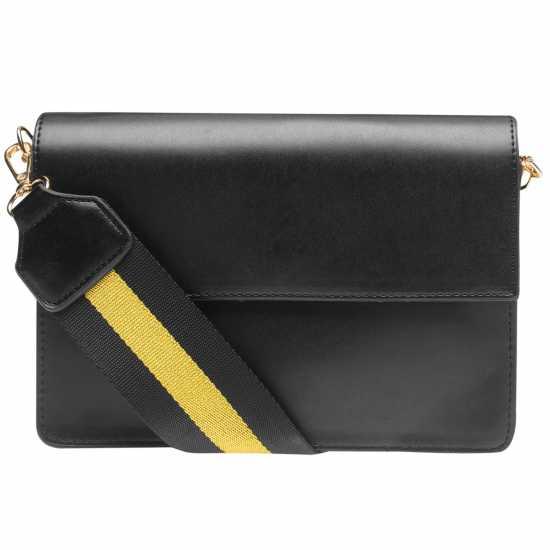 3e03e4b74c7 Pieces Faline Bag Black Чанти през рамо