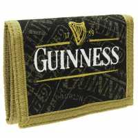 Character Guinness Print Wallet Black Портфейли