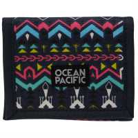 Ocean Pacific Ripstop Ladies Wallet AOP Aztec Дамски чанти