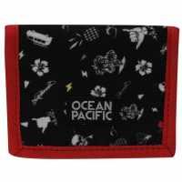 Ocean Pacific Портмоне Ripstop Wallet AOP Palm Портфейли
