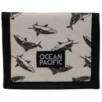 Ocean Pacific Портмоне Ripstop Wallet AOP Shark Портфейли