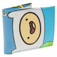 Character Adventure Time Finn Wallet Blue/White Портфейли