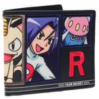 Character Pokemon Rock Wallet Blue Портфейли