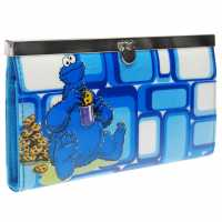 Sale Character Sesame Street Cookie Monster Wallet Junior Girls  Портфейли