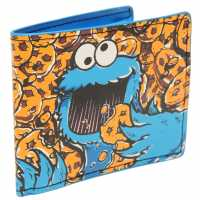 Character Sesame Street Cookie Monster Wallet Multi Портфейли