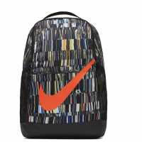 Десенирана Раница Nike Brasilia All Over Print Backpack  Ученически раници