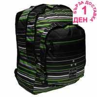 Hot Tuna Раница С Щампа Print Backpack Green Phase Ученически раници