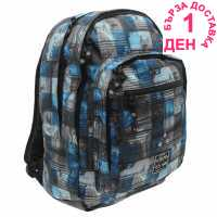 Hot Tuna Раница С Щампа Print Backpack Blue Photoprint Раници