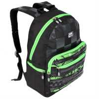 No Fear Скейт Раница Mx Skate Backpack Black/Char/Lime Раници