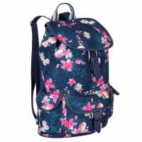 Miso Раница Канава Canvas Backpack Navy Floral Дамски чанти