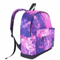Hot Tuna Раница Galaxy Backpack Pink/Purple Ученически раници