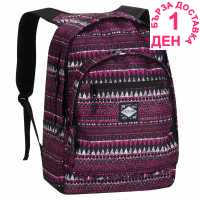 Hot Tuna Раница С Щампа Print Backpack Pink Tribal Ученически раници