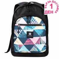 Hot Tuna Раница С Щампа Print Backpack Bermuda Tri Ученически раници