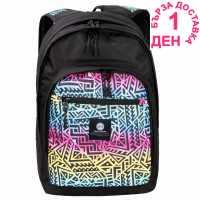 Hot Tuna Раница С Щампа Print Backpack Rainbow Aztec Ученически раници