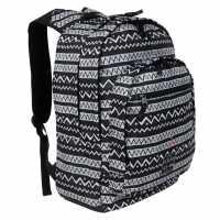Hot Tuna Раница С Щампа Print Backpack Black Aztec Раници