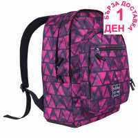 Hot Tuna Раница С Щампа Print Backpack Pink Aztec Ученически раници