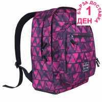 Hot Tuna Раница С Щампа Print Backpack Pink Aztec Раници