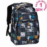Hot Tuna Раница С Щампа Print Backpack Photo Check Ученически раници