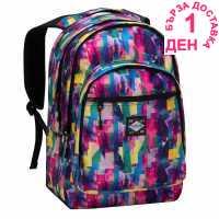Hot Tuna Раница С Щампа Print Backpack Colour Fusion Ученически раници