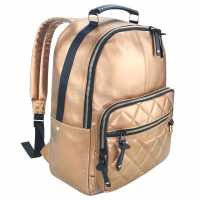 Firetrap Vogue Backpack Metallic Gold Дамски чанти