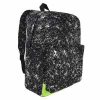 No Fear Glow In Dark Backpack Black/White Раници
