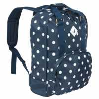 Outdoor Equipment Kangol Waxed Spot Backpack  Ученически раници