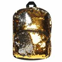 Miso Sequin Medium Backpack Gold Дамски чанти