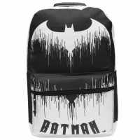 Character Batman Backpack Drip Logo Ученически раници