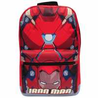 Character Раница За Мъже Backpack Mens Ironman Ученически раници