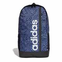 Раница Adidas Adidas Linear Backpack Zebra AOP Ученически раници