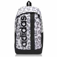 Adidas Раница Linear Backpack Leopard Print Ученически раници