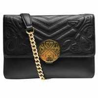 Biba Mini Rosa Shld Bag84 Black Дамски чанти