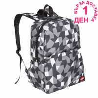 Lee Cooper C Aop Backpack C98 Black/White AOP Раници