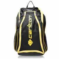 Carlton Airblade Badminton Backpack Black/Yellow Бадминтон